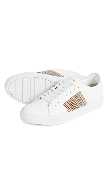 Paul Smith Ivo Strip Leather Sneakers