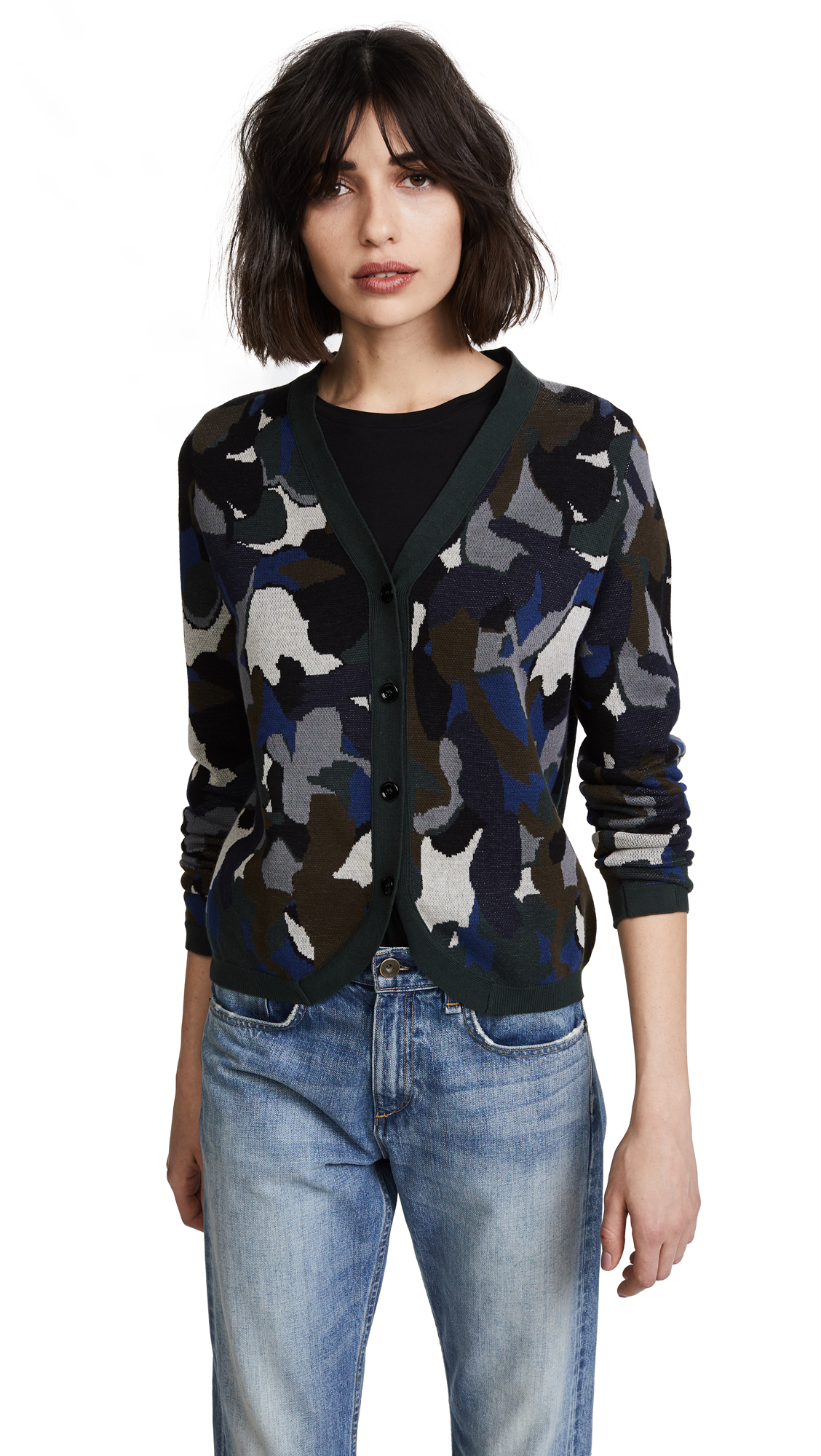 Paul Smith Camo Cardigan