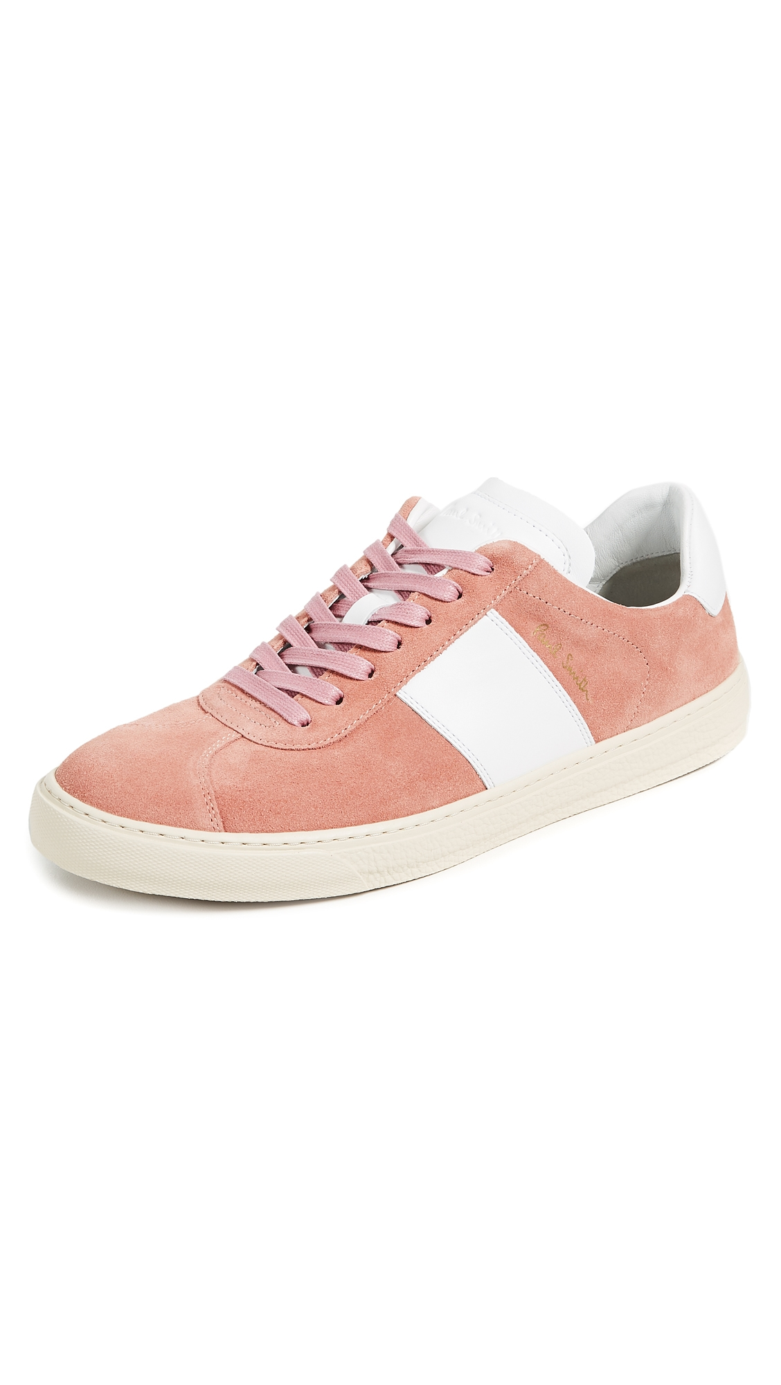 Levon Leather And Suede Sneakers - NavyPaul Smith BCwTE1
