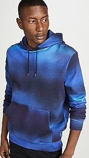 Paul Smith Ombre Print Hooded Sweatshirt
