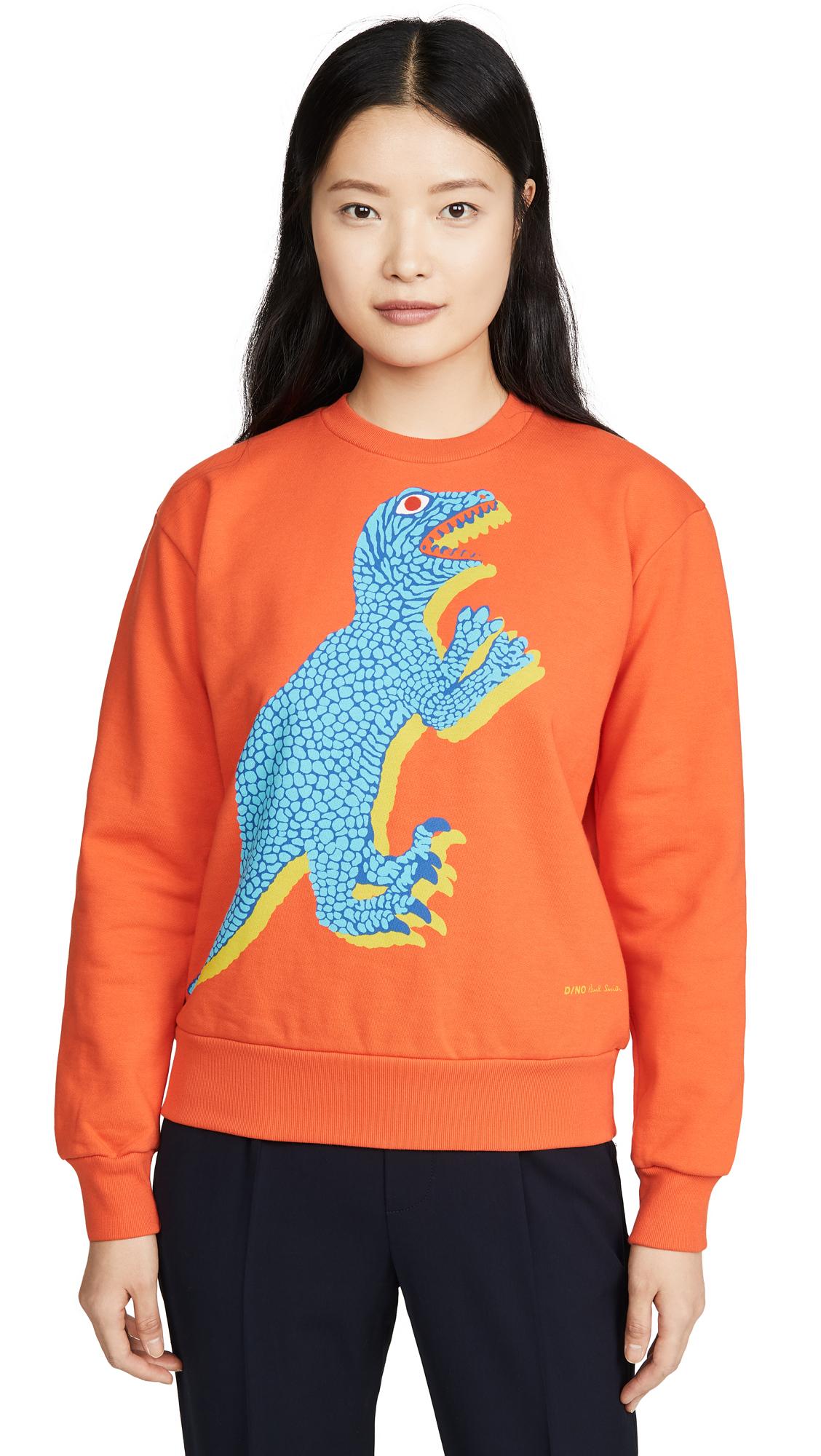 Buy Paul Smith online - photo of Paul Smith Orange Dino Sweatshirt