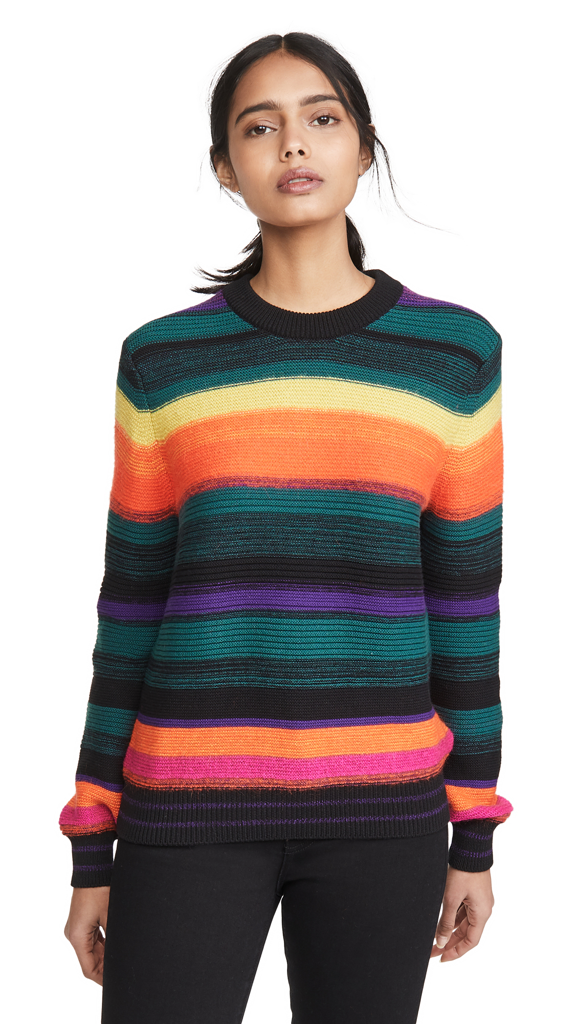 Buy Paul Smith online - photo of Paul Smith Multicolor Stripe Sweater