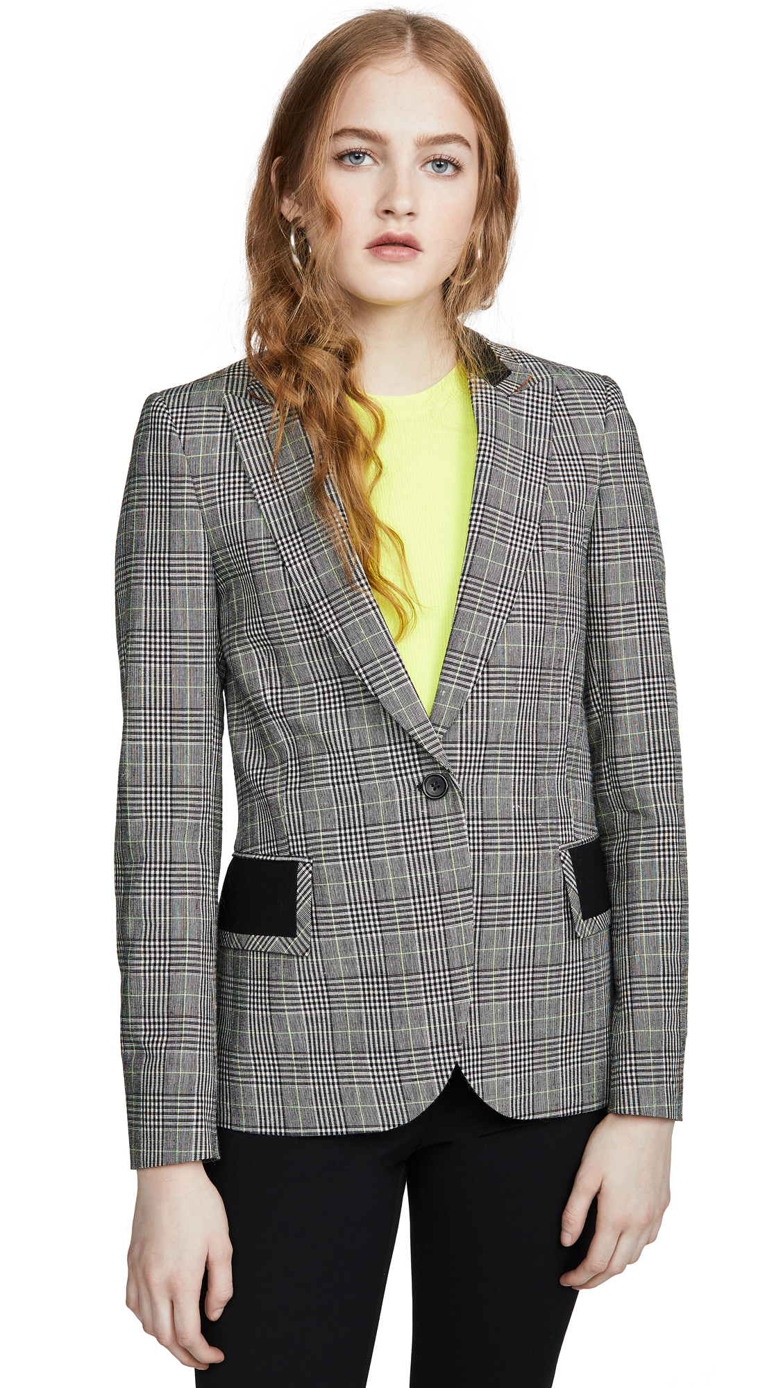 Buy Paul Smith online - photo of Paul Smith Black/White Plaid Check Blazer