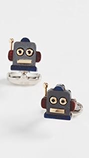 Paul Smith Robot Head Toy Cufflinks