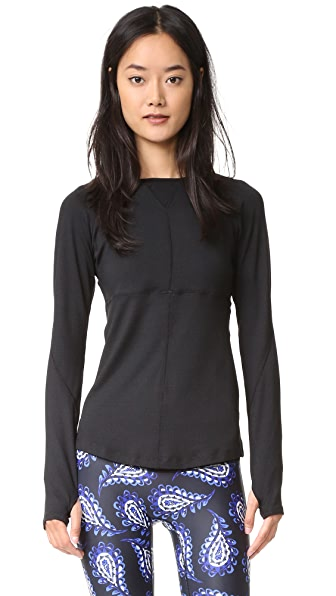 PRISMSPORT Running Top - Black/Black