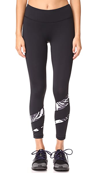 PRISMSPORT Candy Stripe Leggings
