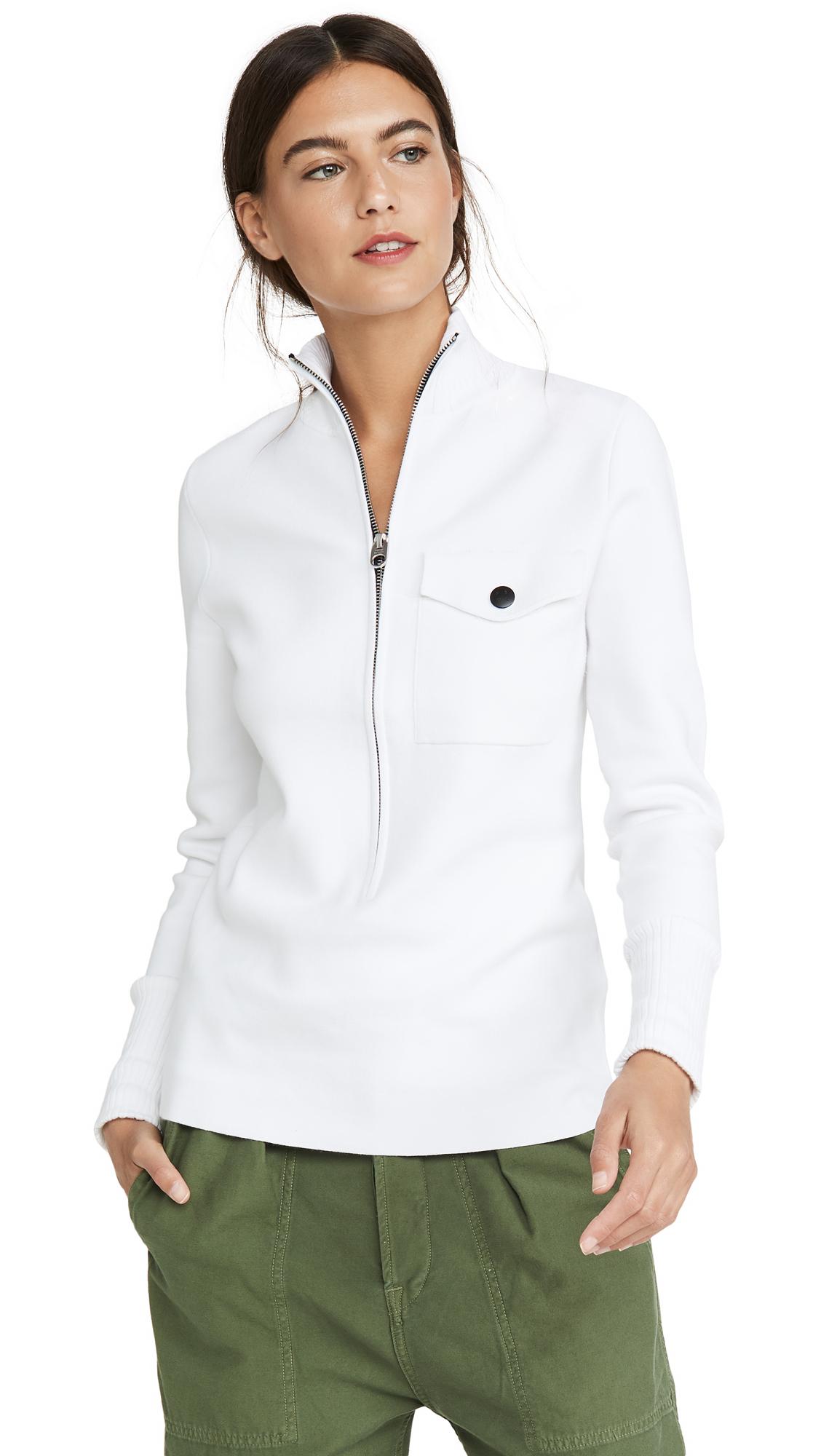 Buy Proenza Schouler White Label online - photo of Proenza Schouler White Label 1/4 Zip Sweater