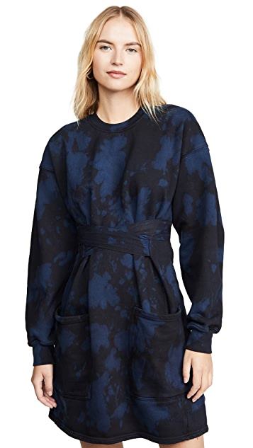 Proenza Schouler PSWL Sweatshirt Dress