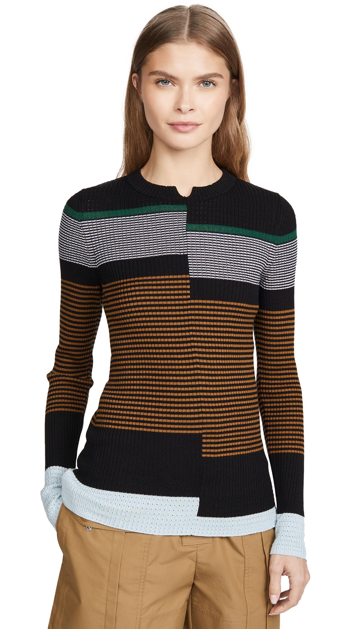 Buy Proenza Schouler White Label online - photo of Proenza Schouler White Label Fine Gauge Rib Pullover