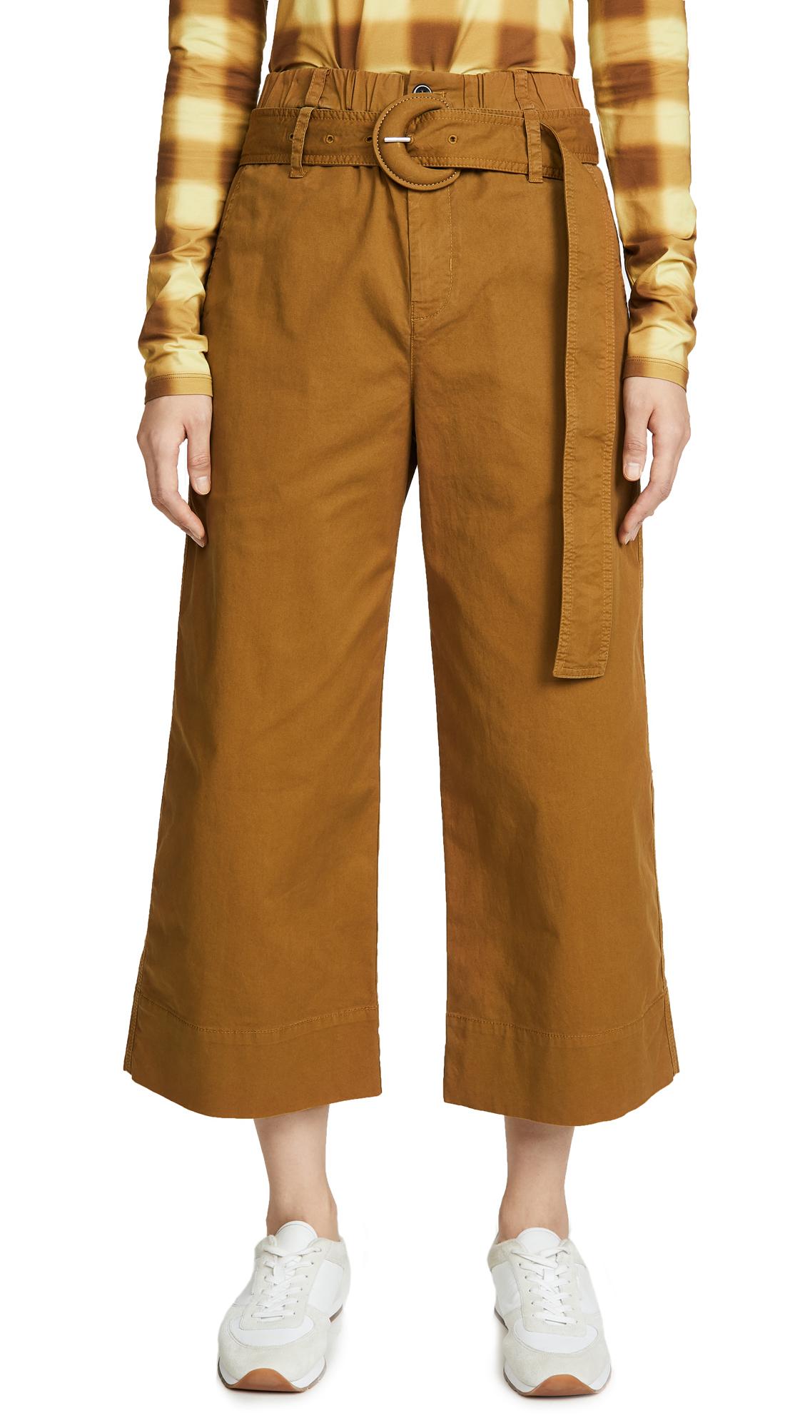 Buy Proenza Schouler White Label online - photo of Proenza Schouler White Label Cotton Paperbag Pants