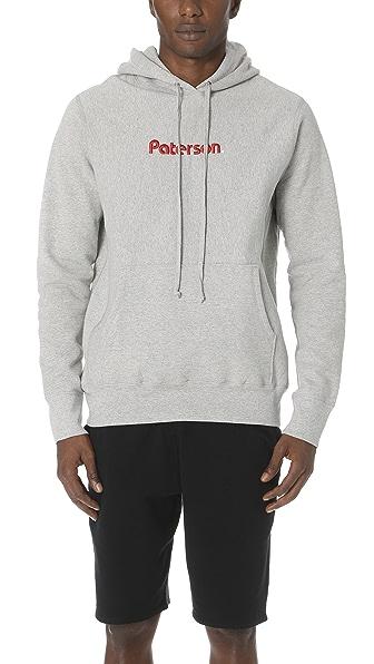 Paterson Straight Logo Hoodie