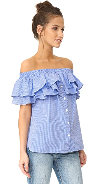 Petersyn Skye Off Shoulder Top