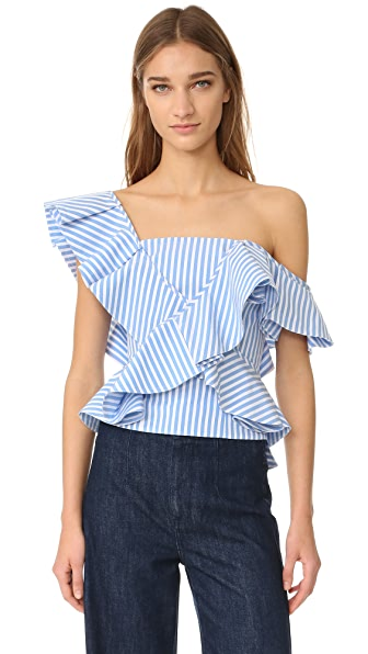 Petersyn Eliza One Shoulder Top
