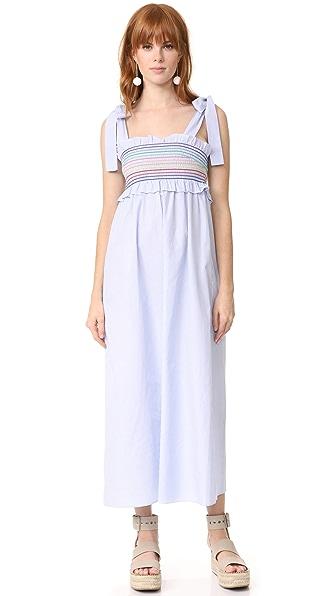 Petersyn Hathaway Dress - Soft Blue Stripe