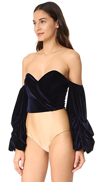 Petersyn Celia Off the Shoulder Bodysuit