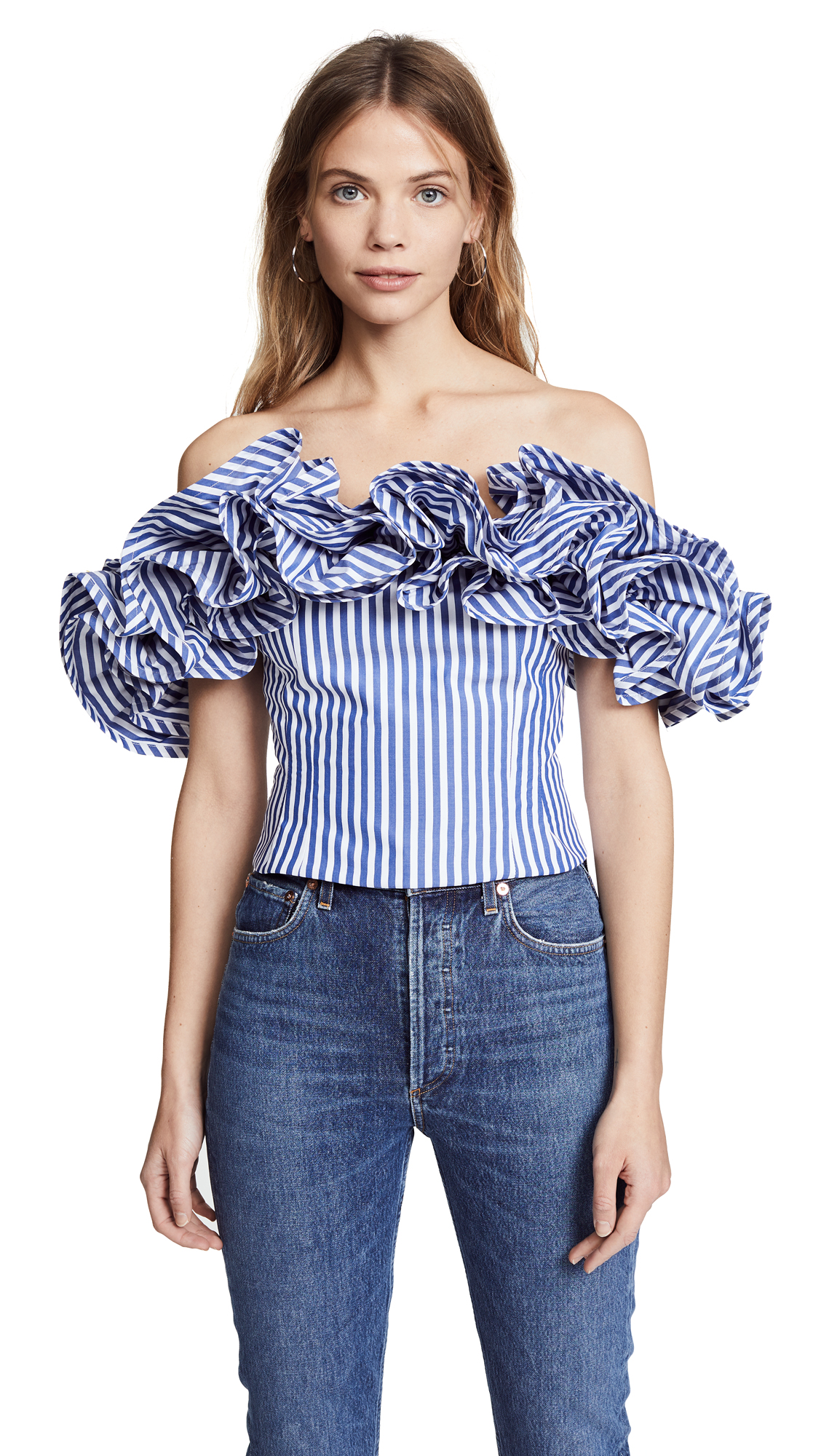 Petersyn Miram Ruffle Top