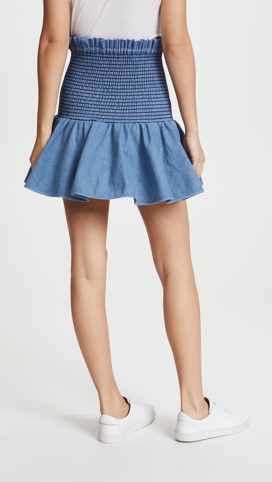 River Skirt in Blue. - size M (also in L,S,XS) Petersyn