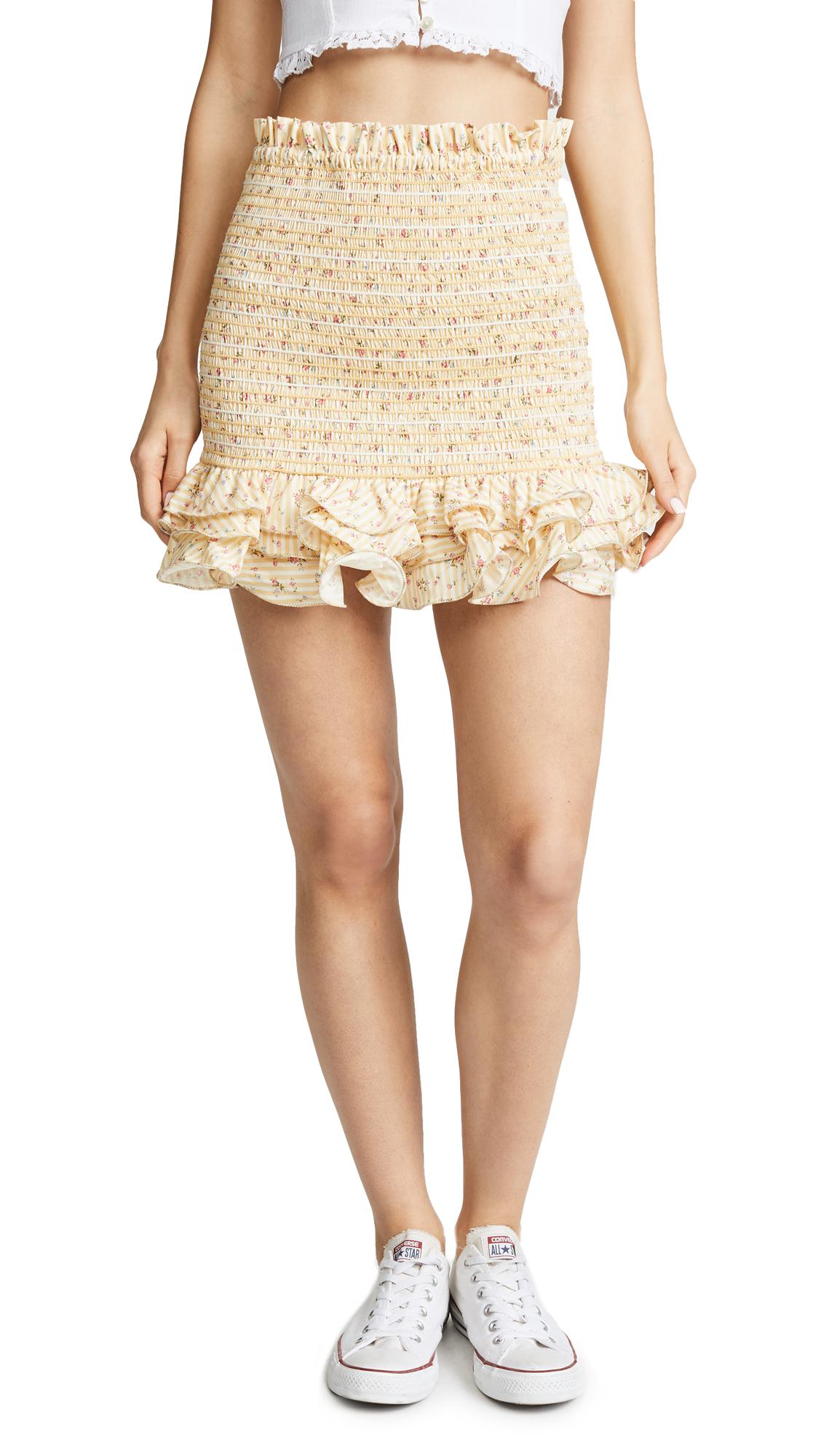 Petersyn Barrett Skirt - Buttermilk