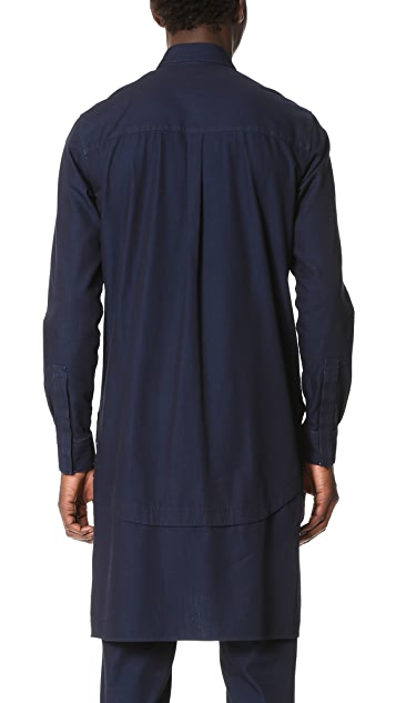 Public School Festhal Chambray Rylan Shirt Tunic