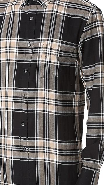 Public School Messuke Tartan Samai Shirt