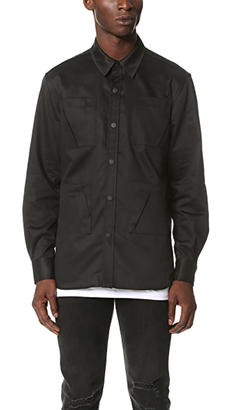 Public School Isolar Twill Shaw Overshirt