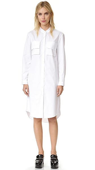 Public School Amber Dress - White