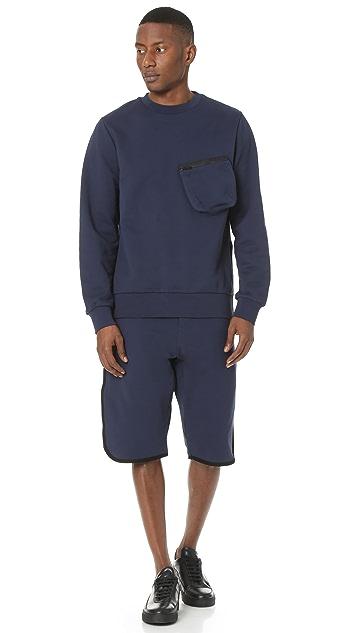 Public School Galden Asymmetrical Hem Pullover