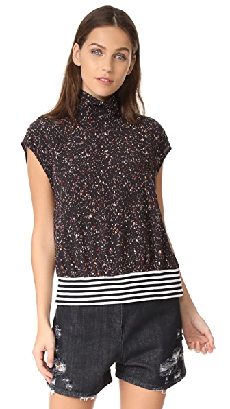 Public School Zada Top In Speckle