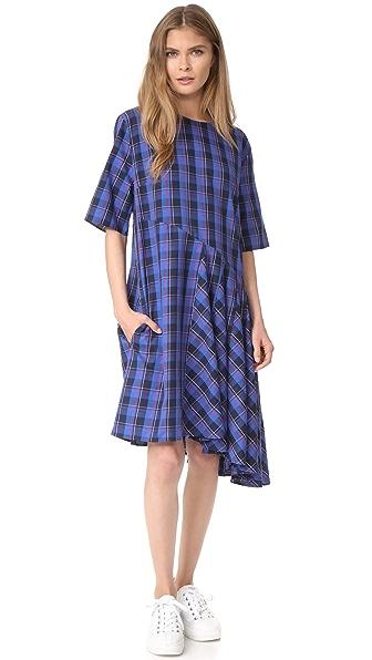 Public School Abi Rima Dress - Blue/Peacoat/Red
