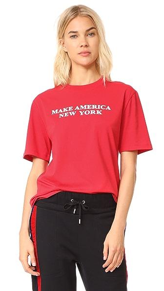 Public School Make America T-Shirt - Red