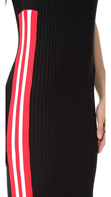 Public School Stripe Serat Sweater Dress