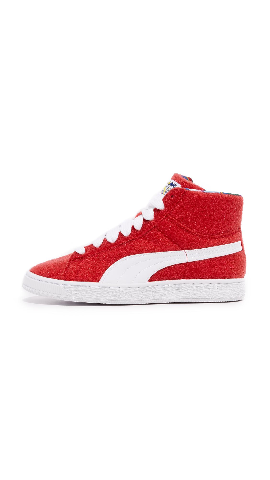 fe24d074bbdc PUMA PUMA x Dee   Ricky Basket CR Sneakers