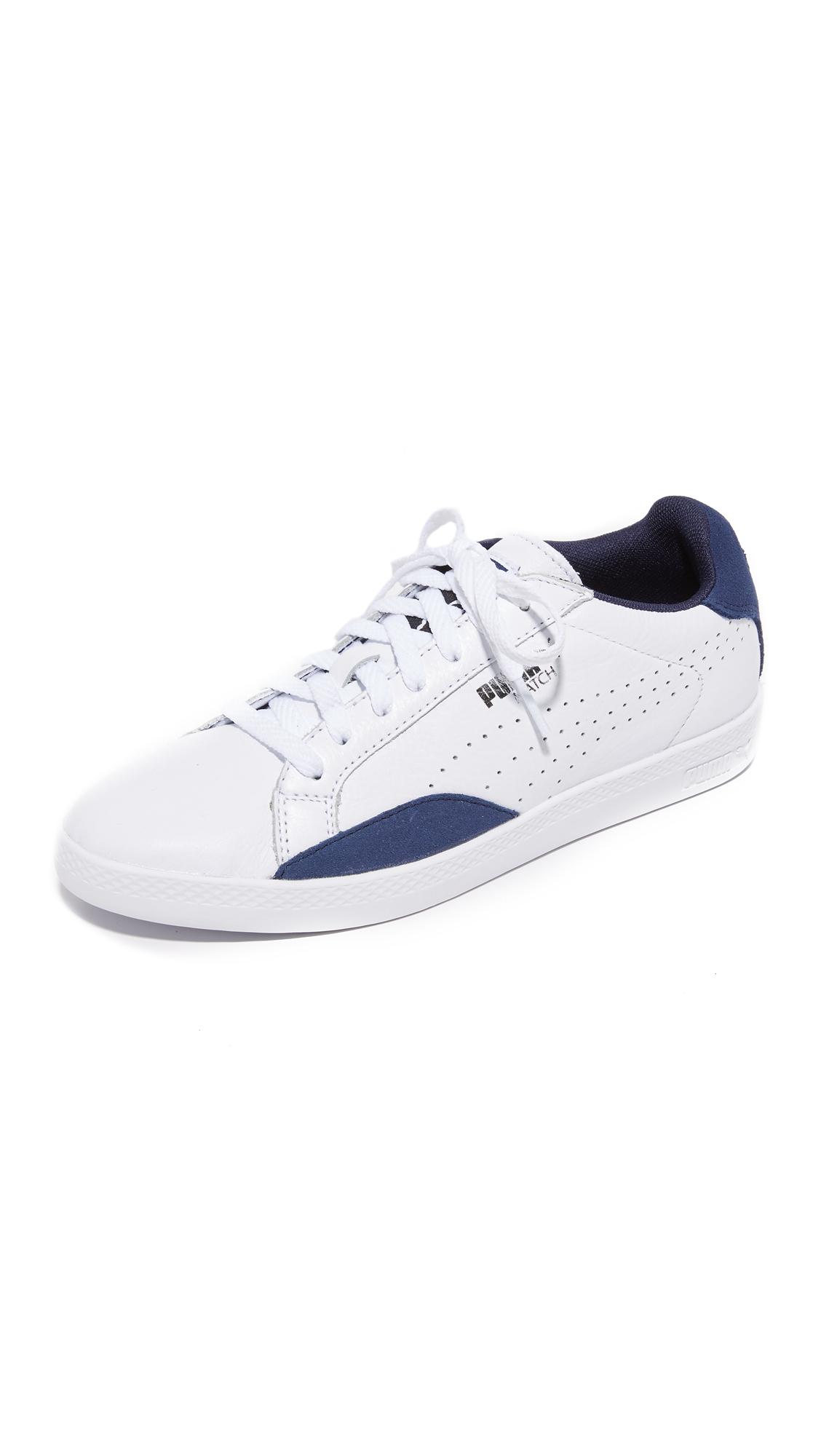 puma female puma match lo basic sports sneakers puma whitepeacoat