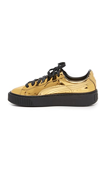 PUMA Creeper Metallic Sneakers