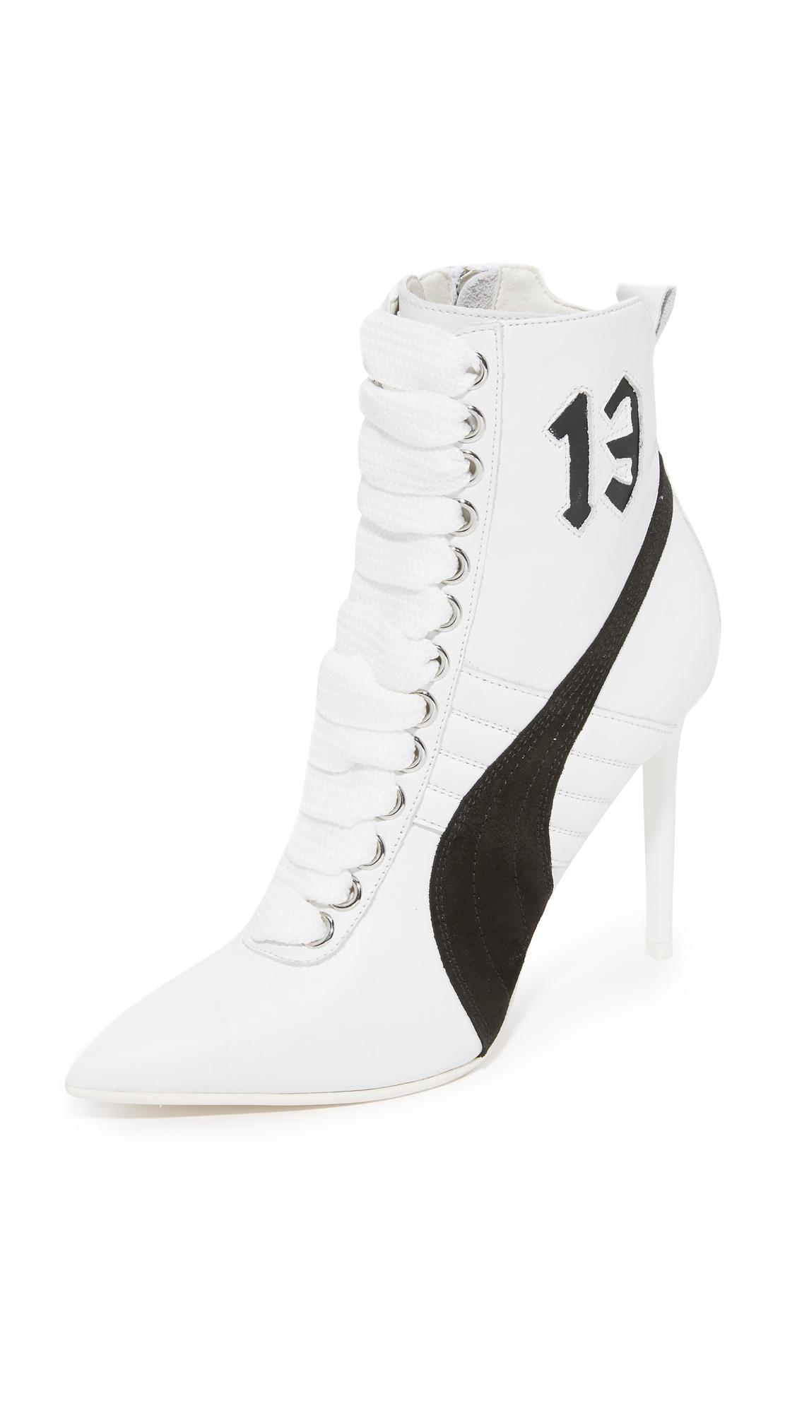 Puma Puma X Rihanna Sneaker Booties - White