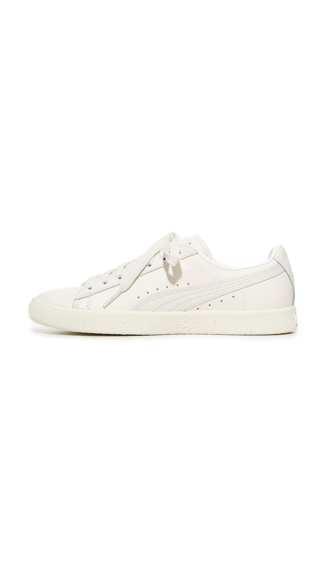 98e15ac46a0 PUMA Clyde Natural Sneakers
