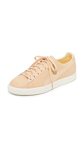PUMA Clyde Natural Sneakers In Natural