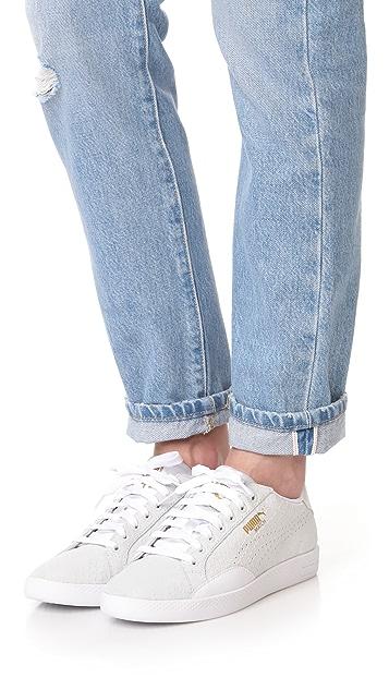PUMA Match Select Exotic Skin Sneakers