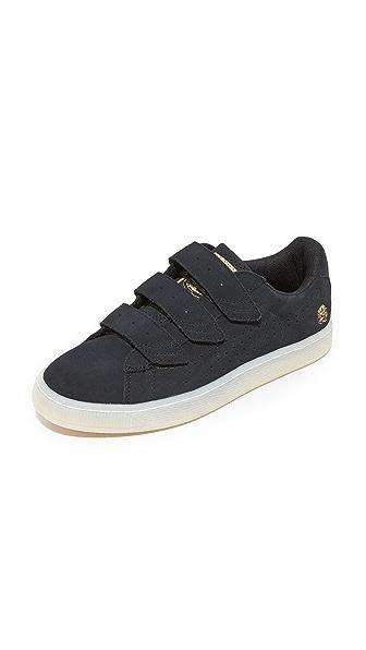 PUMA x CAREAUX Basket Velcro Sneakers - Puma Black