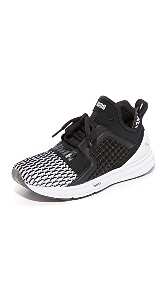 PUMA Limitless Colorblock Sneakers - Puma Black/Puma White