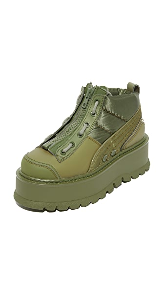 PUMA FENTY x PUMA Sneaker Zip Booties - Cypress