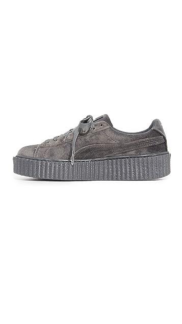 PUMA Creeper Velvet Sneakers