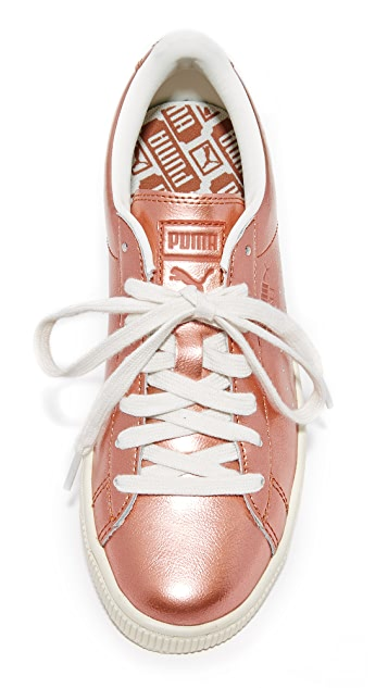 PUMA Basket Classic Citi Metallic Sneakers