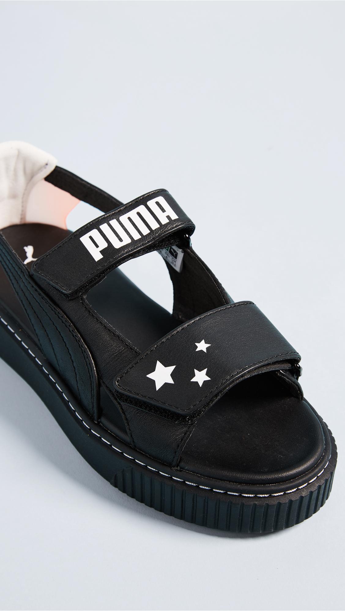 1e24d80406f7 PUMA x SOPHIA WEBSTER Platform Sandals