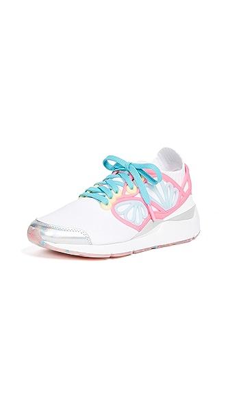 PUMA x SOPHIA WEBSTER Cage Sneakers In White Multi