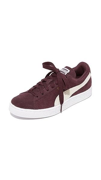 PUMA Suede Classic Sneakers - Burgundy