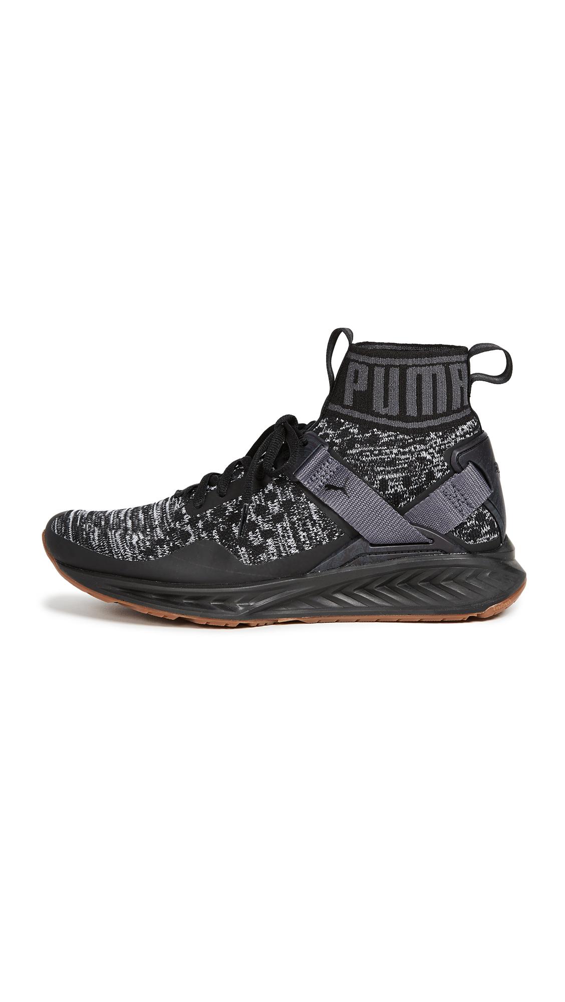 PUMA Ignite evoKNIT Hypernature Sneakers - Black