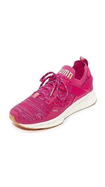 PUMA Ignite evoKNIT Lo VR Sneakers - Bright Pink