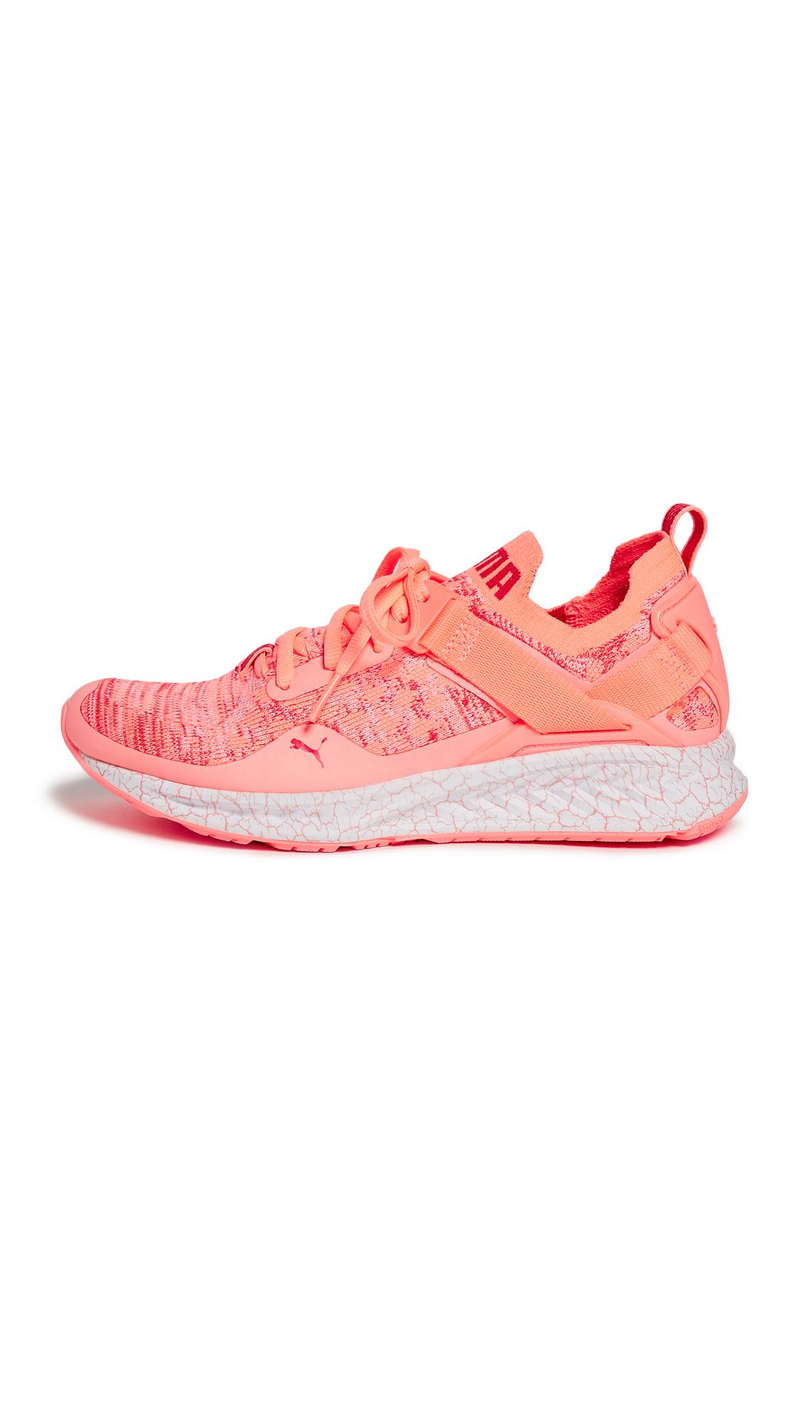 PUMA Ignite evoKNIT Lo Hypernature Sneakers - Light Pink