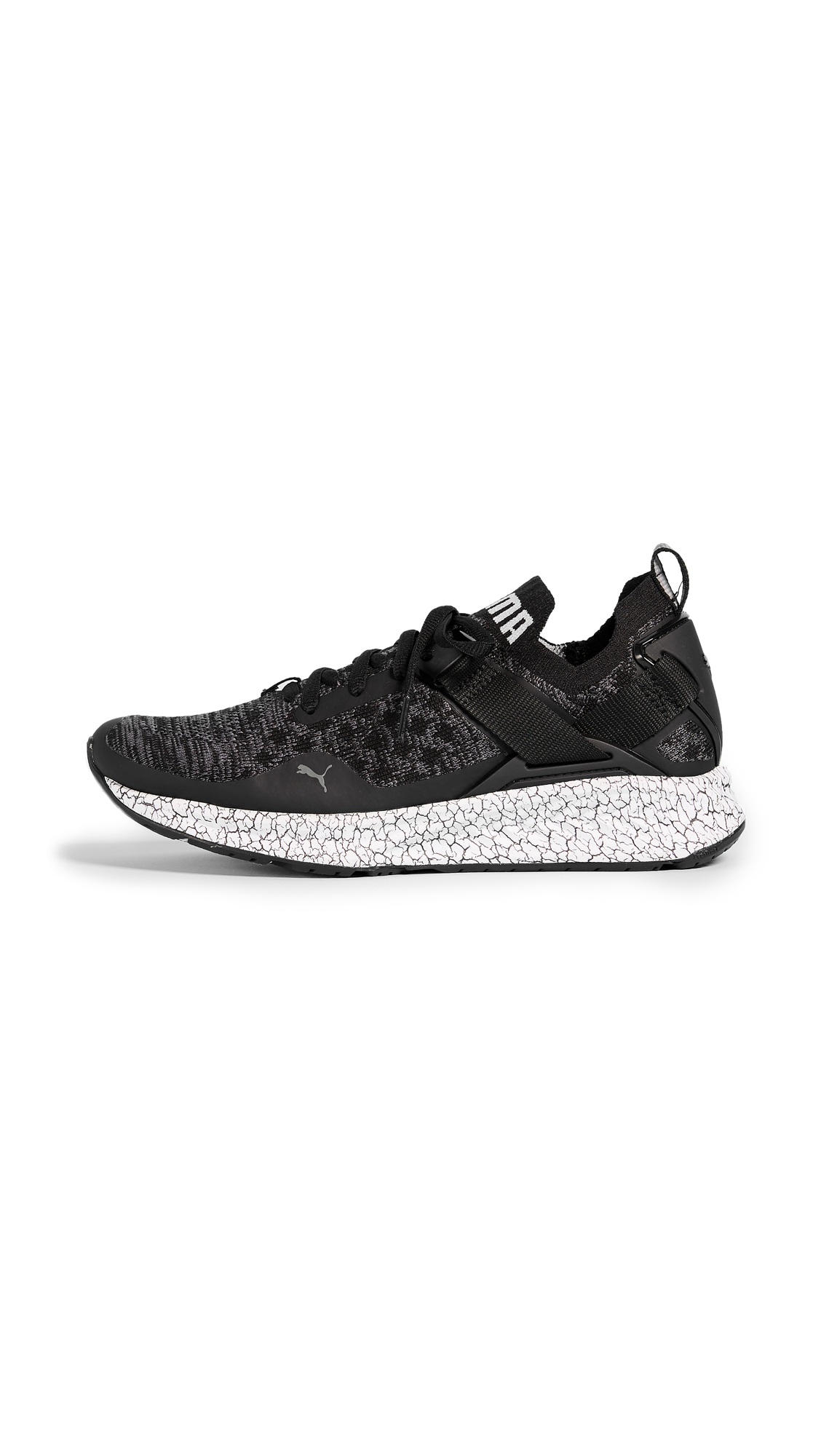 PUMA Ignite evoKNIT Lo Hypernature Sneakers - Black/Marble